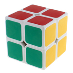 ShengShou Aurora 2x2 Speed Cube White