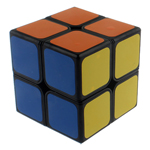 ShengShou Aurora 2x2 Speed Cube Black