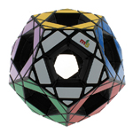 MF8 Hollow Megaminx Magic Cube 90mm Black