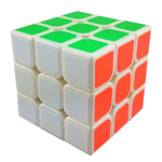 YJ GuanLong 3x3x3 Magic Cube White