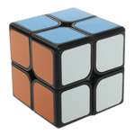 Funs Puzzle XingYu 2x2x2 Magic Cube 50mm Black