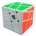 YJ MoYu Crazy Windmill Speed Cube White