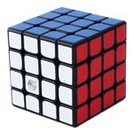 YuXin QiLin 4x4x4 Speed Cube Black
