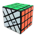 MoYu AoSu Crazy 4x4x4 Windmill Speed Cube Black