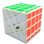 MoYu AoSu Crazy 4x4x4 Windmill Speed Cube White