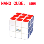 Maru 15mm Nano Cube - Smallest 3x3x3 Magic Cube DIY Kit White