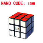 Maru 15mm Nano Cube - Smallest 3x3x3 Magic Cube DIY Kit Black