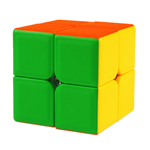 DianSheng 2x2x2 Stickerless Magic Cube