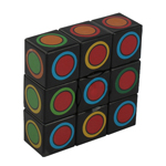 YuXin 1x3x3 Magic Cube Black