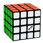 MFG QiHang 4x4x4 Magic Cube Puzzle Black 65mm