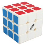 MFG Thunderbolt 3x3x3 Speed Cube White 56mm