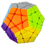 YongJun MoYu YuHu Megaminx Stickerless Speed Cube