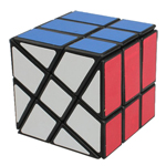 YJ Fisher Windmill Magic Cube Puzzle Black
