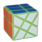 YongJun Luminous Fisher Windmill Magic Cube Puzzle