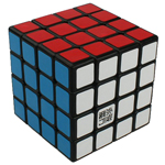YongJun YuSu 4x4x4 Speed Cube 62mm Black