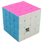 YongJun YuSu 4x4x4 Stickerless Speed Cube 62mm Pink Version