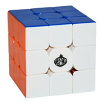CONGS DESIGN MeiYing 3x3x3 Stickerless Speed Cube Standard Color