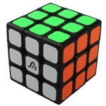 Funs Puzzle Mini JieYun 3x3x3 Speed Cube 54.6mm Black