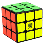 MoYu TangLong 3x3x3 Speed Cube 56.5mm Black