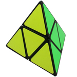 ShengShou 2x2 Pyraminx Speed Cube Black