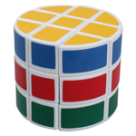 Cylinder 3x3x3 Magic Cube White