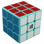 MoYu TangLong 3x3x3 Speed Cube 56.5mm Cyan