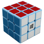 MoYu TangLong 3x3x3 Speed Cube 56.5mm Blue