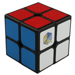 YuXin Golden Kylin 2x2x2 Magic Cube Black