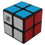 YongJun YuPo 2x2x2 Magic Cube Black