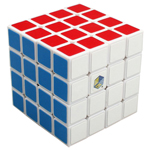 YuXin Lion 4x4x4 Magic Cube White