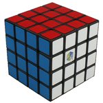 YuXin Lion 4x4x4 Magic Cube Black