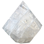GD Mini Diamond Magic Cube Transparent