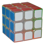 YongJun GuanLong 3x3x3 Magic Cube Transparent