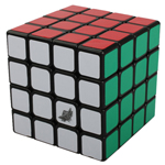 Cyclone Boys G4 4x4x4 Speed Cube 60mm Black