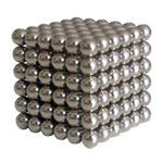 216pcs 5mm Magnetic Balls Puzzle Toy Silver