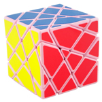 MoYu AoSu Axis Transformers Speed Cube Puzzle Pink