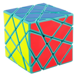 MoYu AoSu Axis Transformers Speed Cube Puzzle Cyan