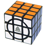 WitEden Super 3x3x4 Magic Cube Puzzle Black