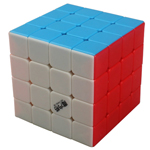 QiYi MoFangGe Storm 4x4x4 Magic Cube 62mm Fluorescent Color