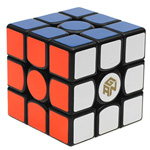 Ganspuzzle Gans356S 3x3x3 Speed Cube 56mm Black