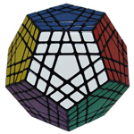 ShengShou Gigaminx Magic Cube Puzzle Black