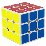 GuoGuan Yuexiao 3x3x3 Speed Cube 55mm White