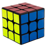 GuoGuan Yuexiao 3x3x3 Speed Cube 55mm Black