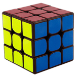 GuoGuan Yuexiao 3x3x3 Speed Cube 55mm Coffee