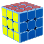 GuoGuan Yuexiao 3x3x3 Speed Cube 55mm Blue
