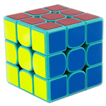 GuoGuan Yuexiao 3x3x3 Speed Cube 55mm Cyan