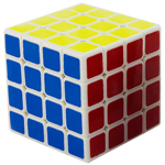 YongJun GuanSu 4x4x4 Magic Cube 62mm White