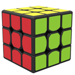QiYi Wind 3x3x3 Speed Cube 56mm Black