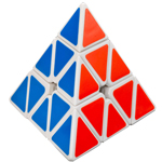 Cyclone Boys Pyraminx Speed Cube White