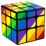 YongJun Unequal 3x3x3 Cube Black